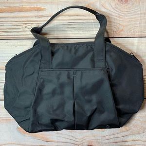 Lululemon black gym duffle bag